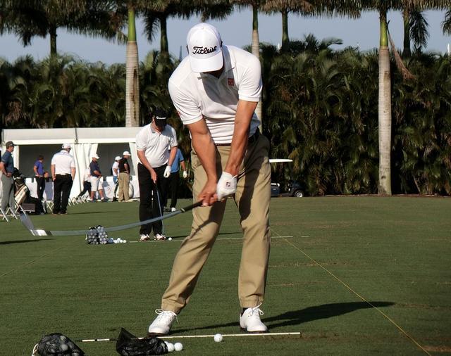"""画像: """"ぶ厚いインパクト""""は「右手が上」Vol.3 - みんなのゴルフダイジェスト"""