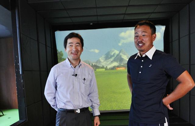 画像: 谷口拓也プロと東京大学 大学院情報学環 准教授工藤和俊先生