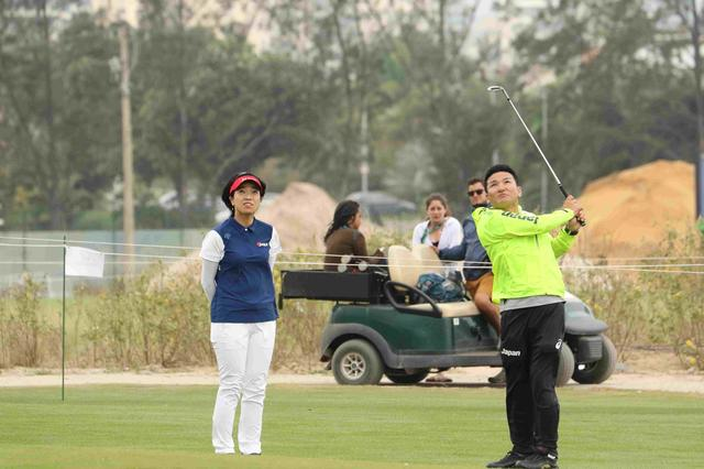 画像13: 【リオ五輪女子ゴルフ速報】大山も野村もメダル圏内!(^^)!丸山コーチの教えが効いた⁉︎