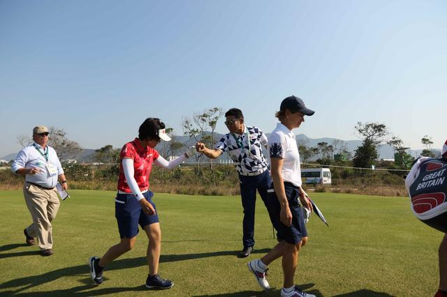 画像14: 【リオ五輪女子ゴルフ速報】大山も野村もメダル圏内!(^^)!丸山コーチの教えが効いた⁉︎