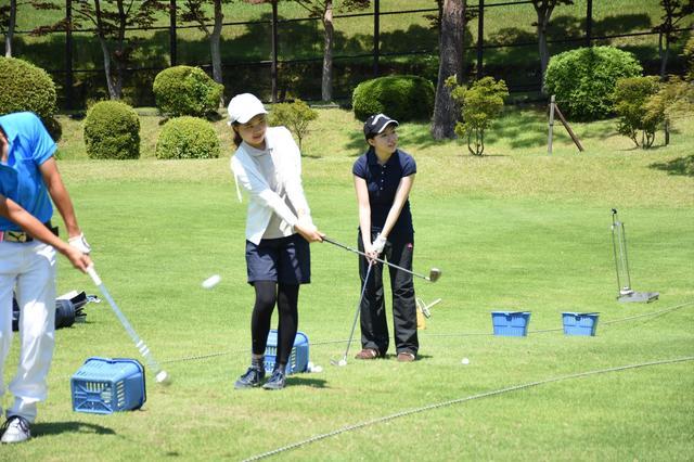 画像4: 大学の授業でゴルフ。初めてのコース体験【Gちゃれ】