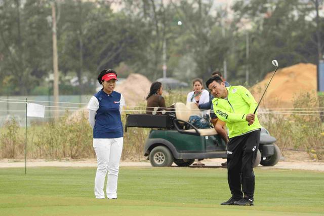 画像11: 【リオ五輪女子ゴルフ速報】大山も野村もメダル圏内!(^^)!丸山コーチの教えが効いた⁉︎
