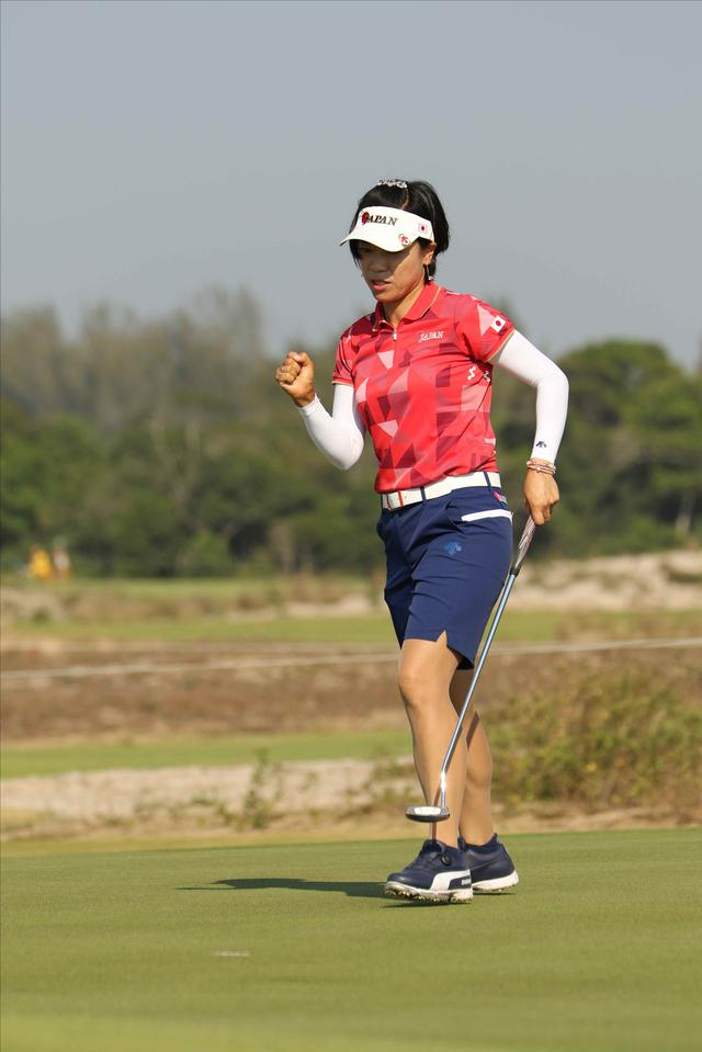 画像5: 【リオ五輪女子ゴルフ速報】大山も野村もメダル圏内!(^^)!丸山コーチの教えが効いた⁉︎