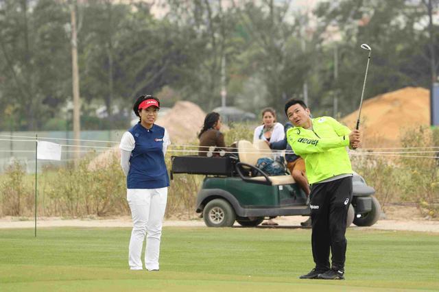 画像12: 【リオ五輪女子ゴルフ速報】大山も野村もメダル圏内!(^^)!丸山コーチの教えが効いた⁉︎