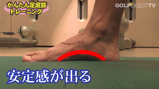 画像2: ステップ2 足の指をパワーアップ