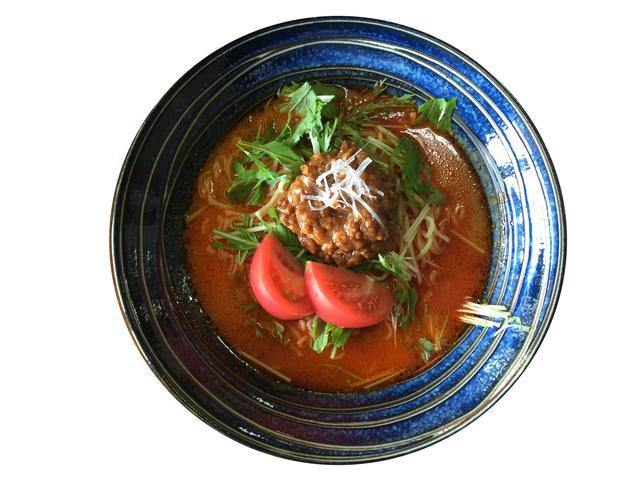 画像: 冷し坦々麺