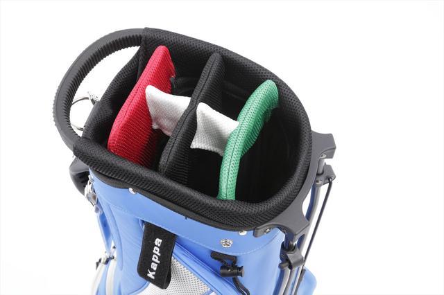 画像: ヨコシマポイント 口枠をイタリア国旗のカラーで色分け。