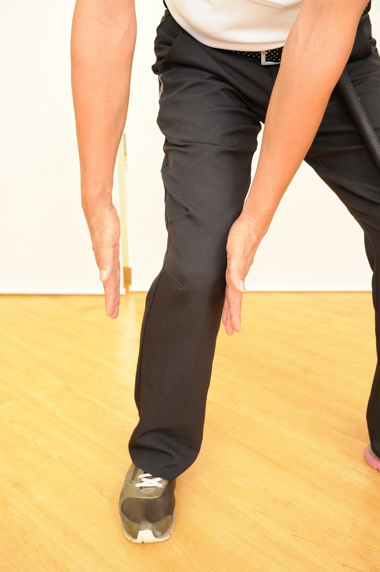 画像2: ひざの故障を防ぐ!腕をしっかりローテーションしてスウィングしよう(後編)