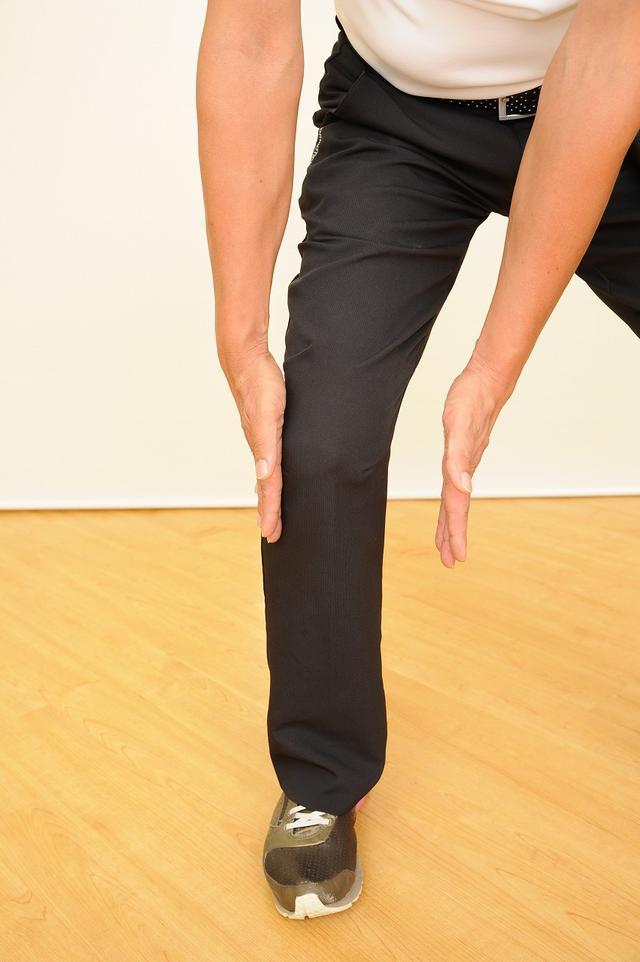 画像1: ひざの故障を防ぐ!腕をしっかりローテーションしてスウィングしよう(後編)