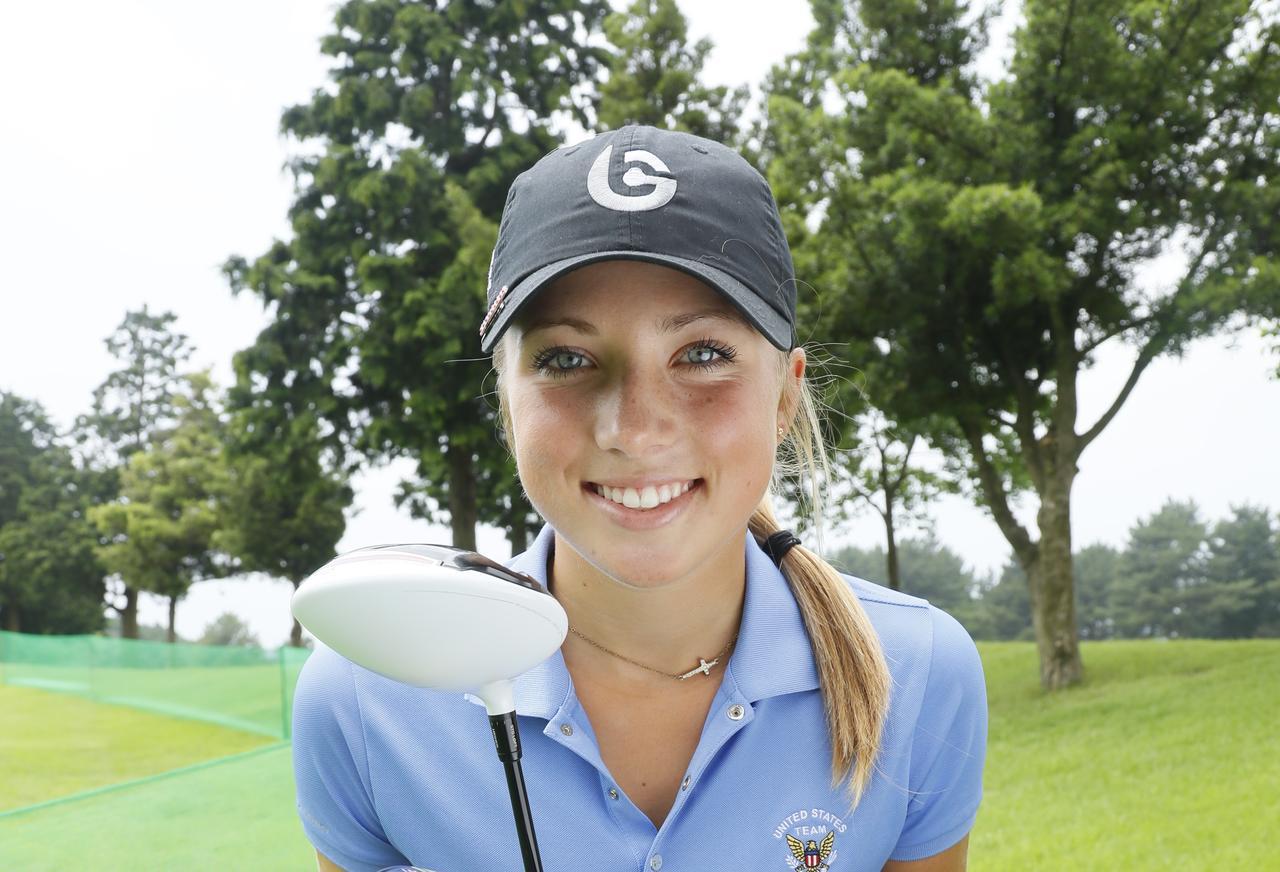 画像: 18歳のシエラちゃんは「ゴムトレ」で体を鍛えてる! - みんなのゴルフダイジェスト