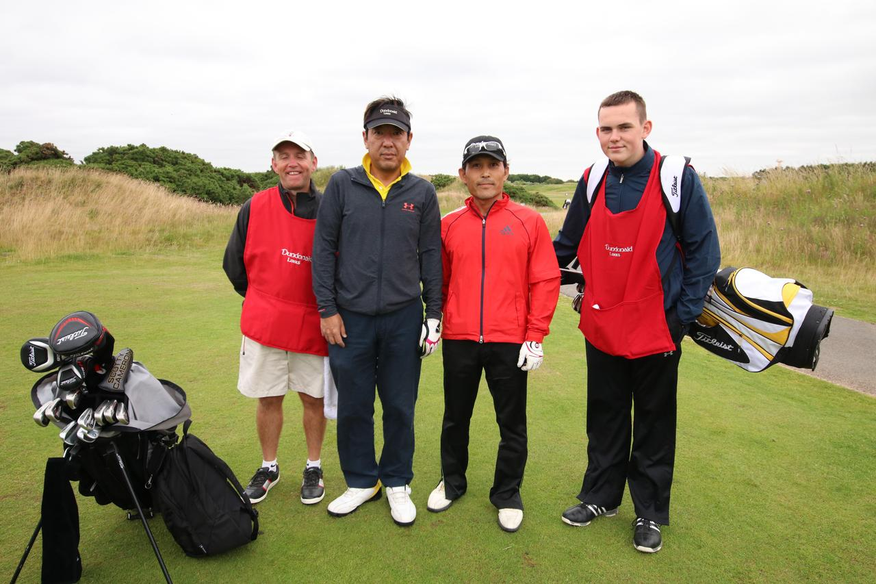 画像1: リンクスでのゴルフで全英オープン気分
