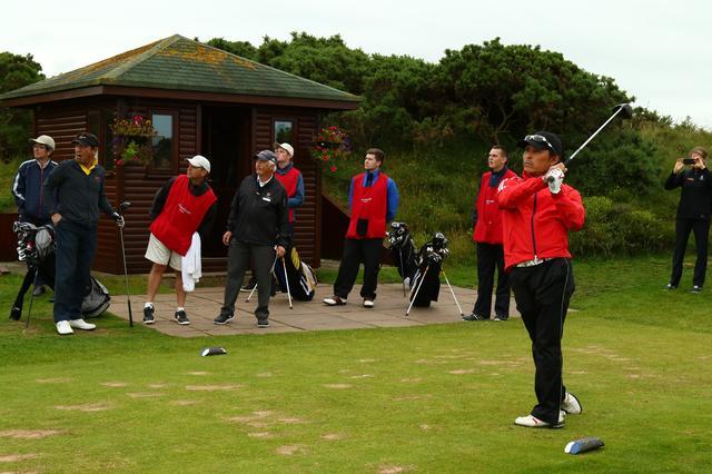 画像2: リンクスでのゴルフで全英オープン気分