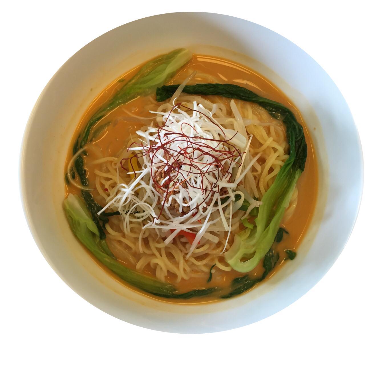画像: 冷製坦々麺