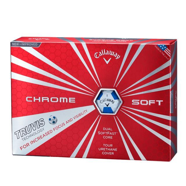 画像: CHROME SOFT TRUVIS ボール 製品情報 | キャロウェイゴルフ Callaway Golf 公式サイト