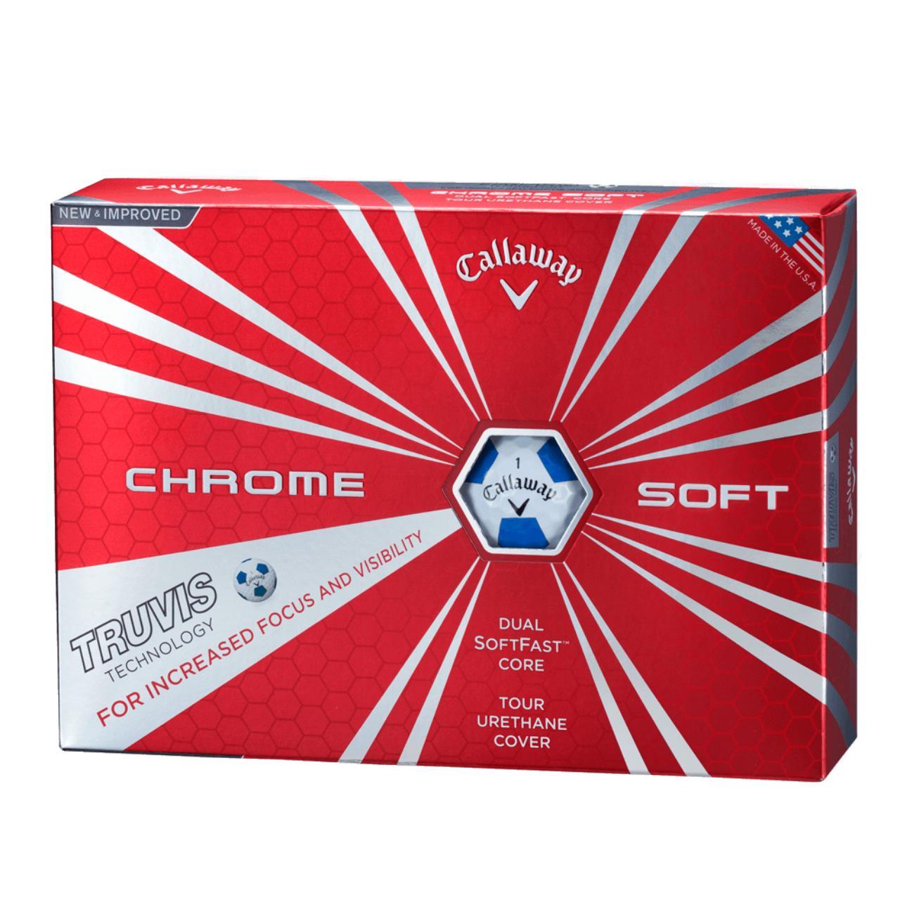 画像: CHROME SOFT TRUVIS ボール 製品情報   キャロウェイゴルフ Callaway Golf 公式サイト