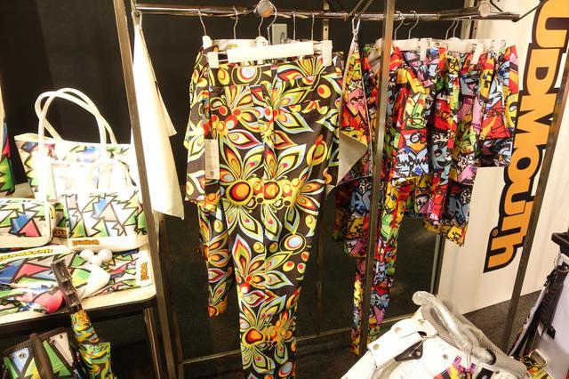 """画像5: ド派手なデザイン""""LOUDMOUTH""""の合言葉は「プレーもファッションも楽しもう!」"""
