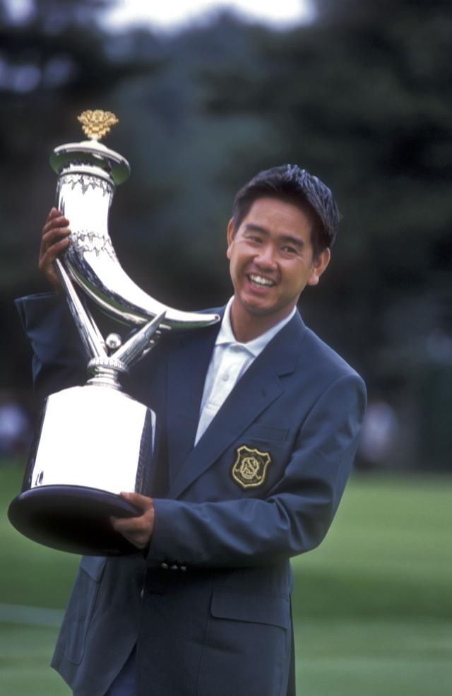 画像: 97年サントリーオープンでプロ初優勝