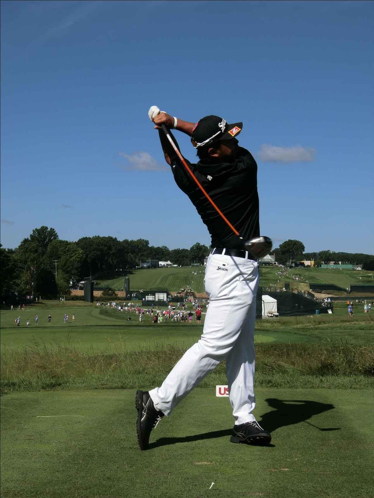 画像11: PGAの主役を小平智がスウィング解説「松山英樹のトップがイチ押し」