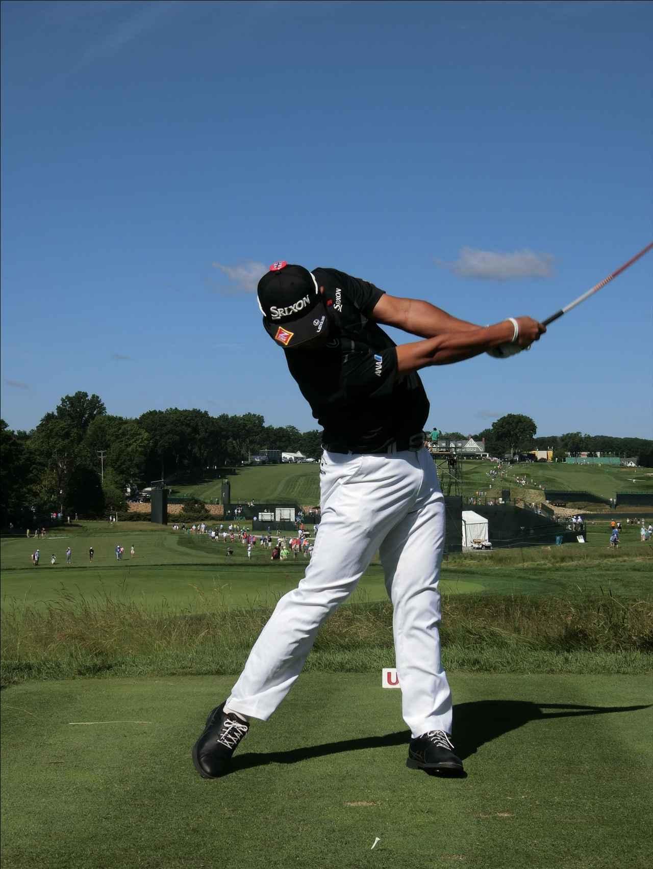 画像8: PGAの主役を小平智がスウィング解説「松山英樹のトップがイチ押し」