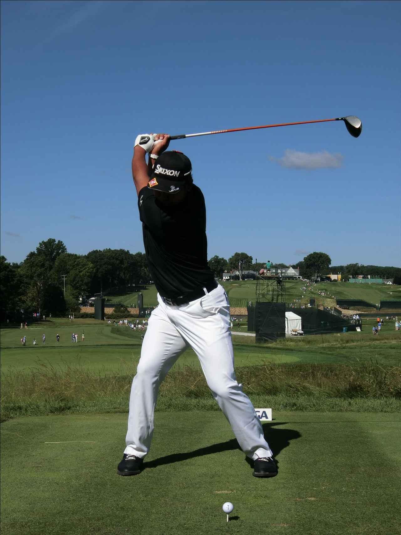 画像4: PGAの主役を小平智がスウィング解説「松山英樹のトップがイチ押し」