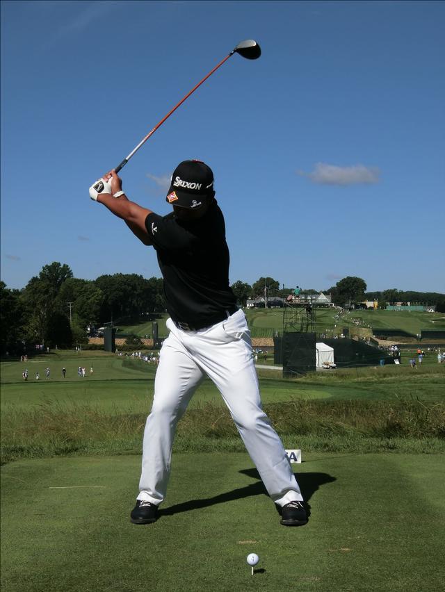 画像3: PGAの主役を小平智がスウィング解説「松山英樹のトップがイチ押し」