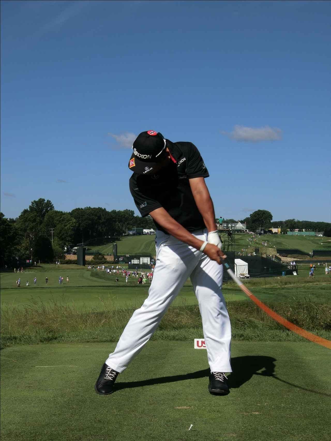 画像7: PGAの主役を小平智がスウィング解説「松山英樹のトップがイチ押し」