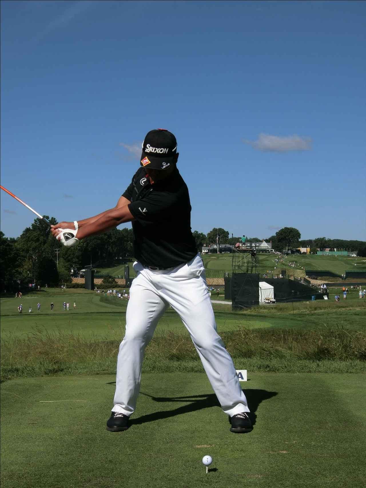 画像2: PGAの主役を小平智がスウィング解説「松山英樹のトップがイチ押し」