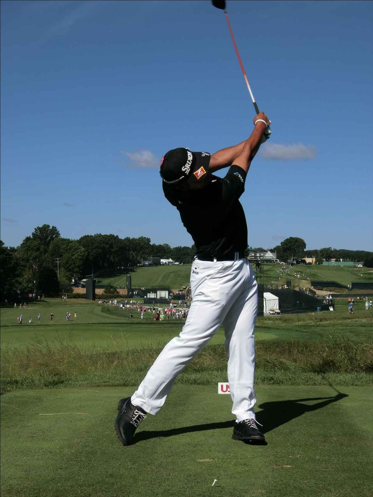 画像9: PGAの主役を小平智がスウィング解説「松山英樹のトップがイチ押し」