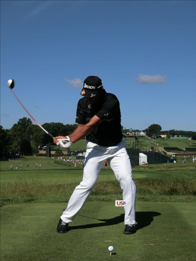画像6: PGAの主役を小平智がスウィング解説「松山英樹のトップがイチ押し」