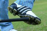 画像: 前かがみにならないように、ぼし球を意識する。ふんばりが利く
