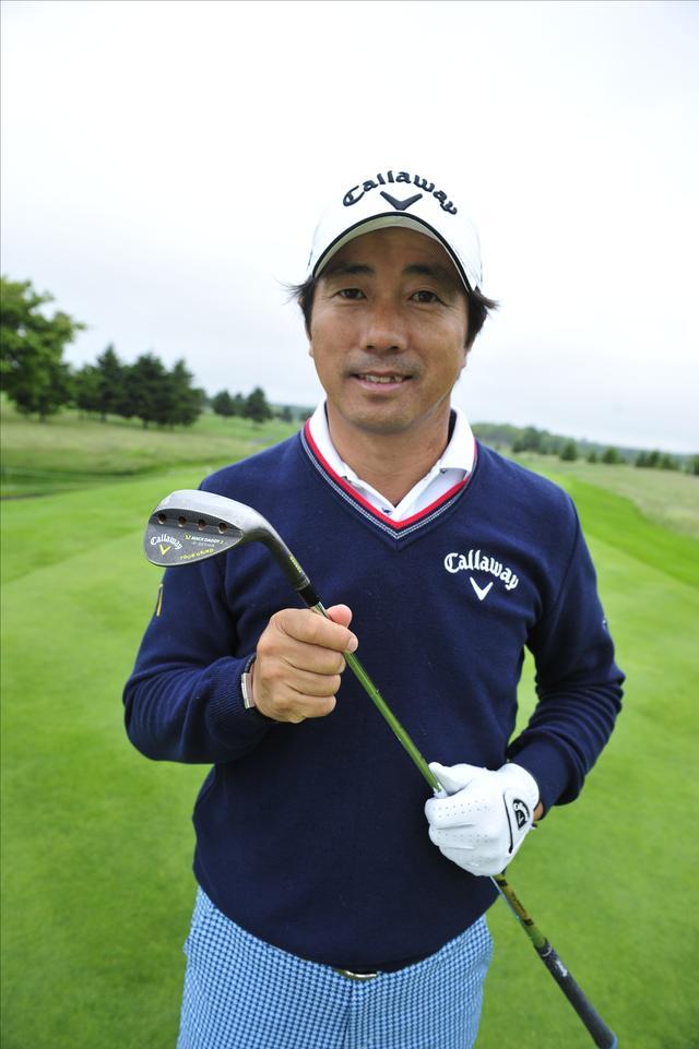 画像: 深堀圭一郎プロ 48歳を超えた今でも第一線で戦い続ける。レッスン上手としても知られる