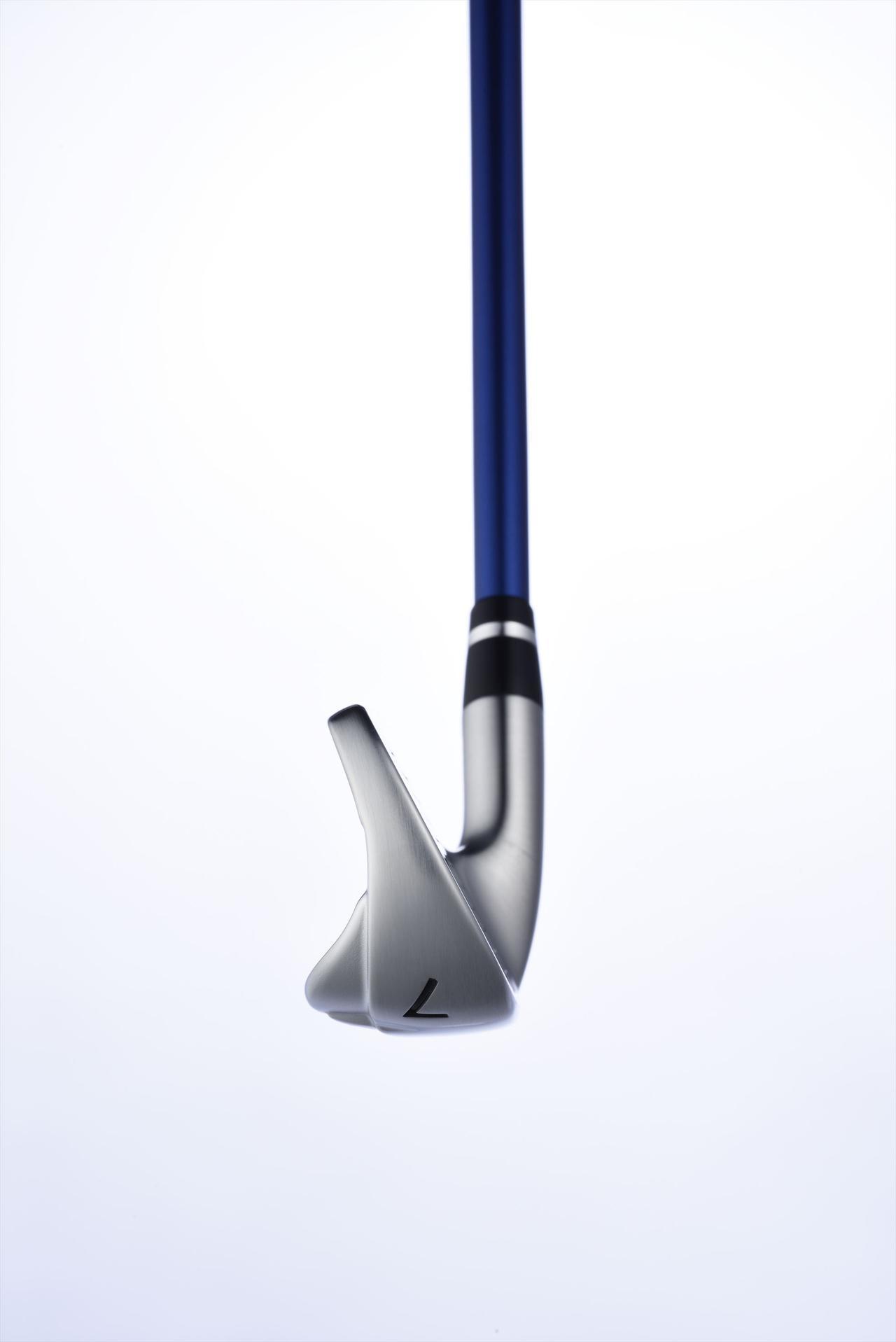 画像: 7番で26度を切る極小ロフトだが、重心設計により弾道の高さも確保