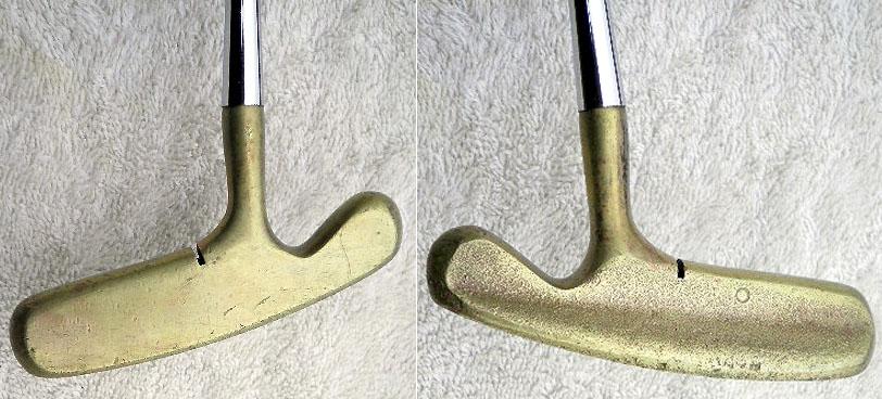 画像: T字パターの代名詞、アクシネット・ブルズアイ。プロがお金を稼ぐパターという意味で「キャッシュイン」と呼ばれた clubsofdistinction.com