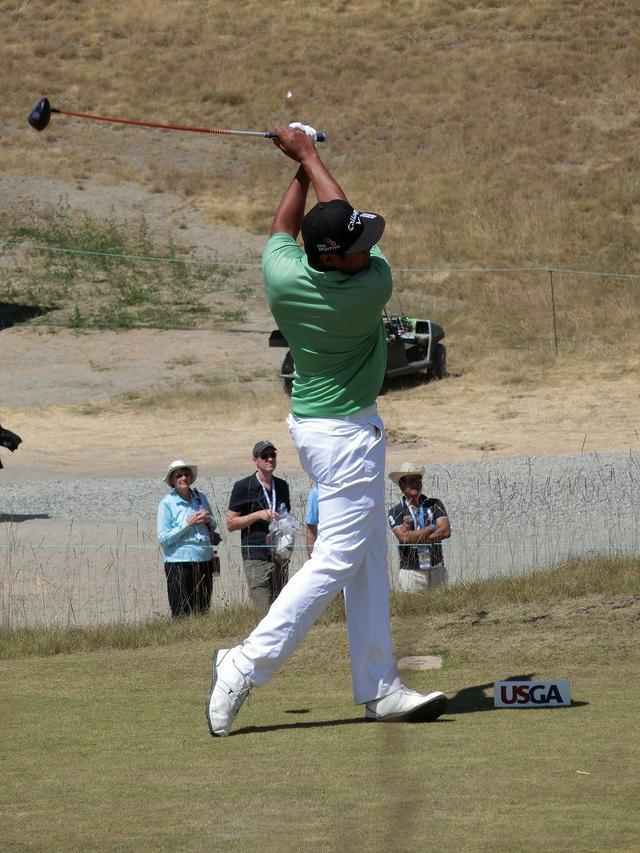 画像12: PGAの飛ばし屋!トニー・フィナウのスウィングを解説