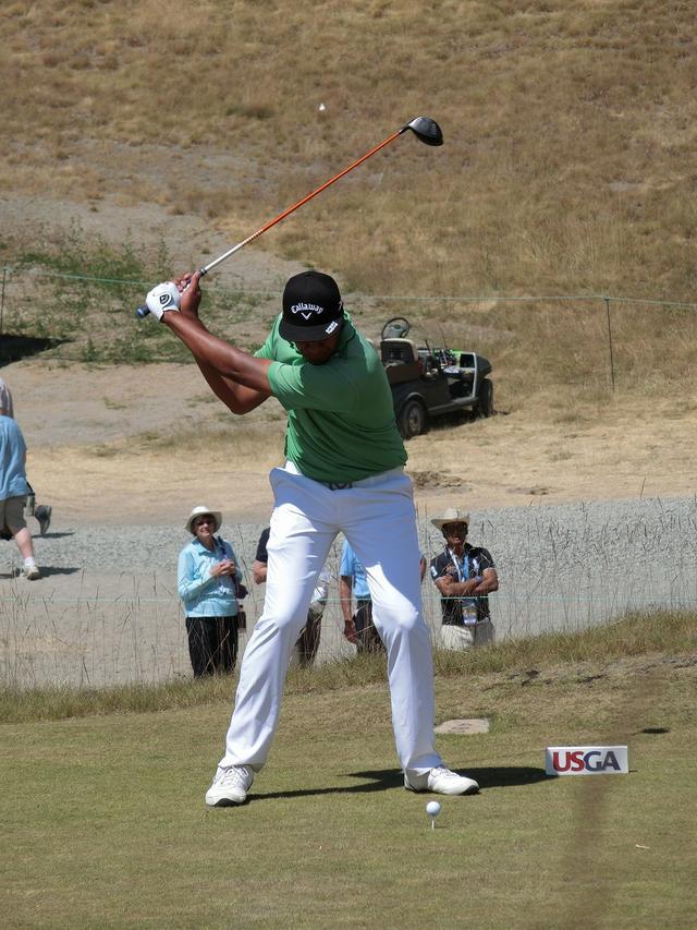 画像7: PGAの飛ばし屋!トニー・フィナウのスウィングを解説