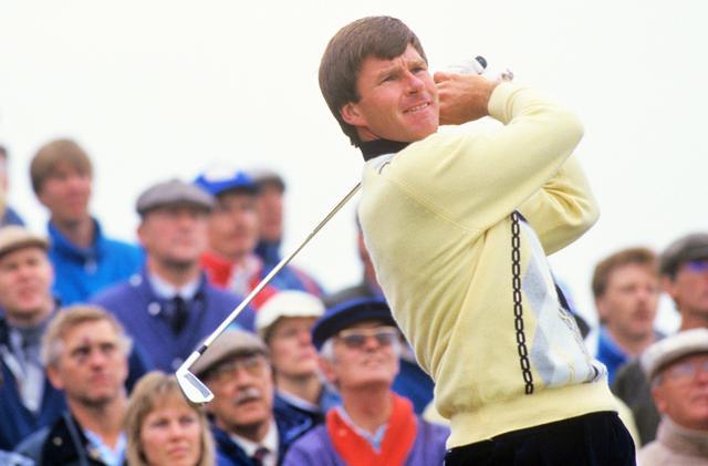 画像: 87年 全英オープン この大会でファルドはメジャー初優勝を果たす