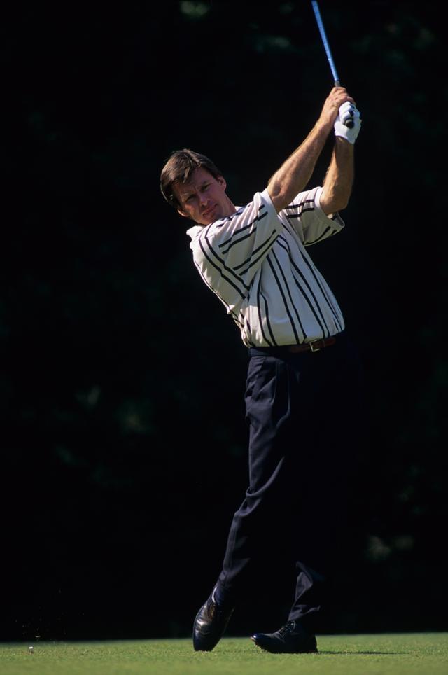 画像: 80年代半ばまではフックボールに悩まされたファルド。スウィング改造をして、87年全英オープンでメジャー初制覇