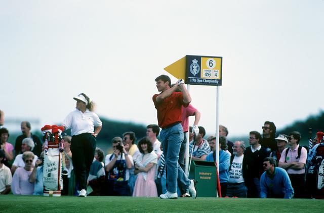 画像: 90年 全英オープン 14歳でゴルフを始めたファルド。その頃の夢は全英オープンで優勝すること