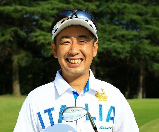 画像: 河野晃一郎プロ 1981年生まれ。精度の高いショットとアプローチが武器