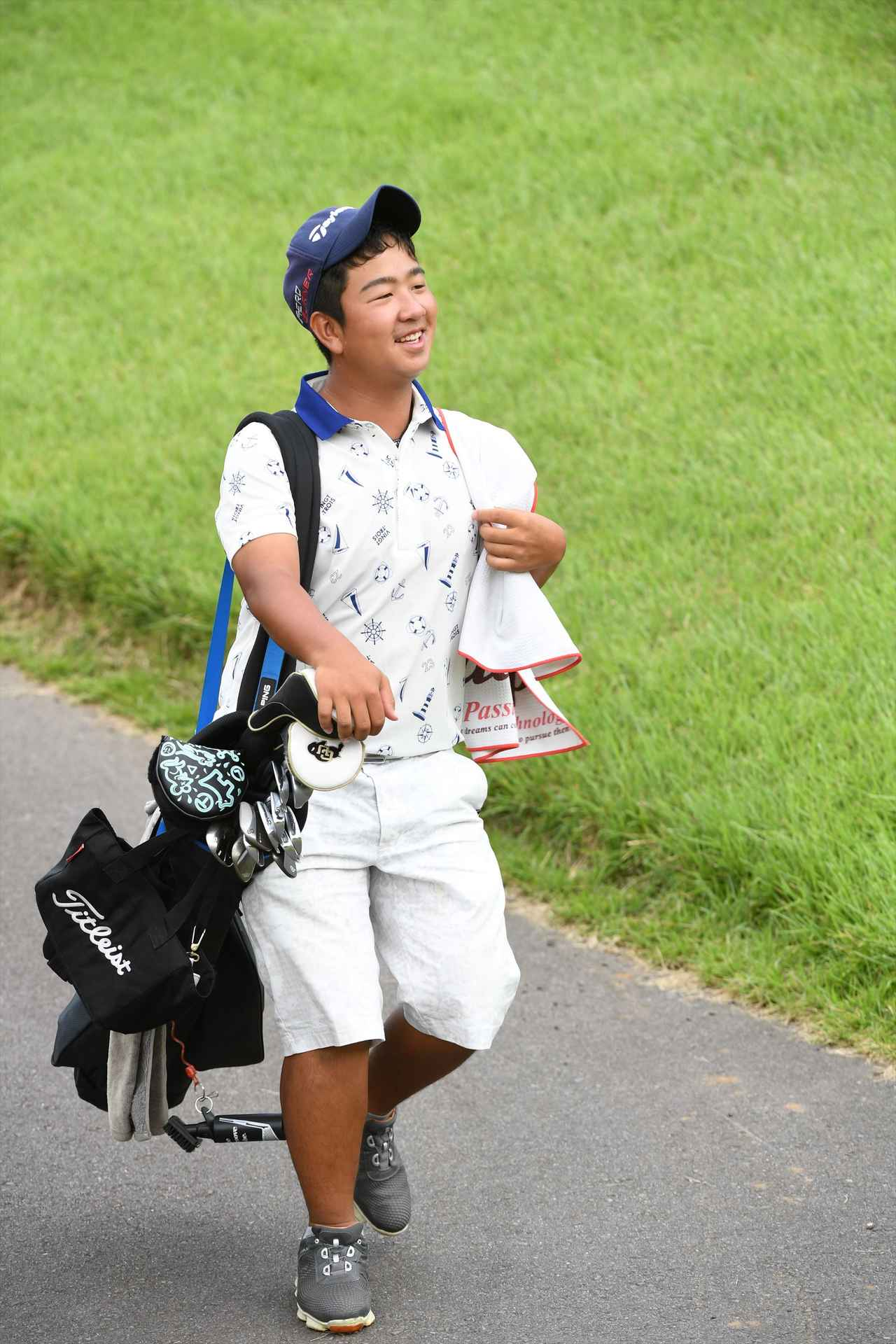 画像: 大会常連の森山友貴は12歳~14歳の部で2位タイ。神奈川県の国体代表でもある