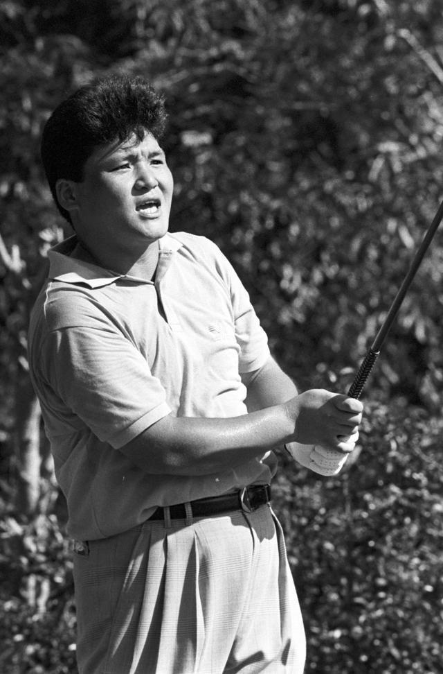 画像: 92年 KBCオーガスタ 当時大学4年生の丸山プロがアマチュアとして出場した