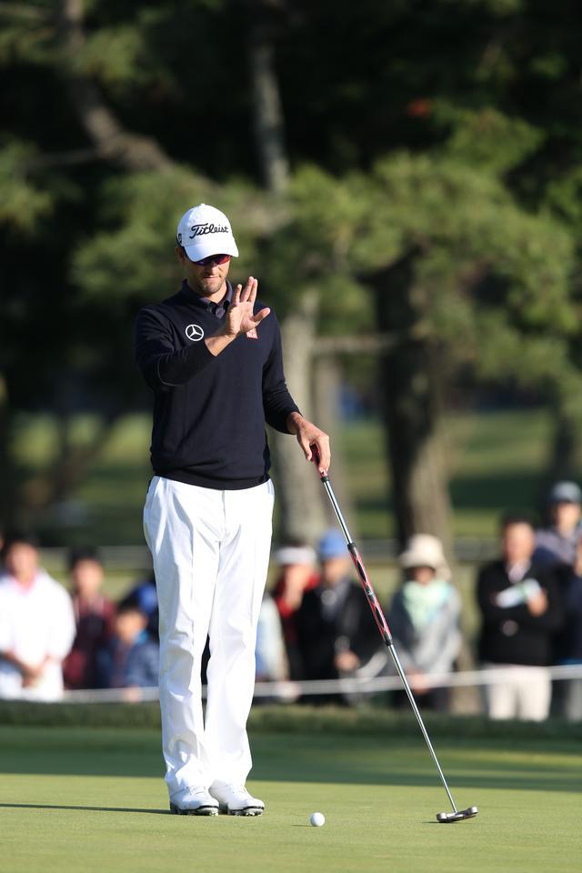 画像1: 日本オープン3年目のアダム、やる気満々です。