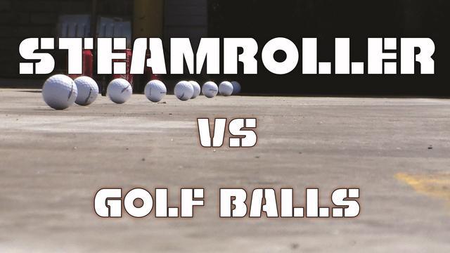 画像: Steam Roller vs Golf Balls www.youtube.com