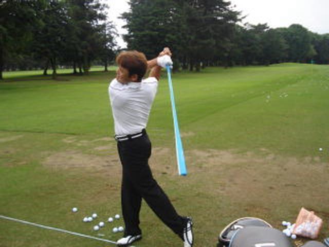 画像: Azas Golf (アザス ゴルフ) 使用プロ ドライバット ゴルフ練習用バット