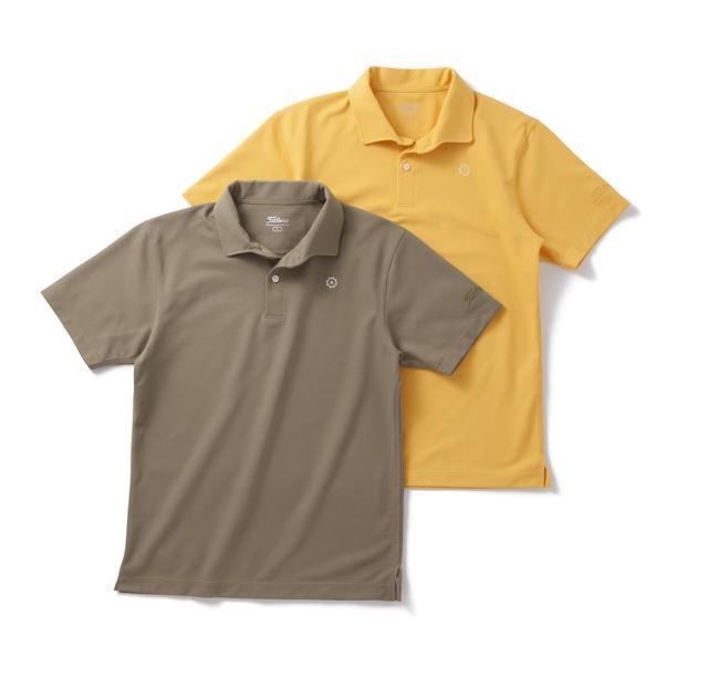 画像: ポロシャツ2色
