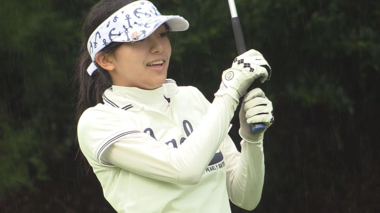 画像: SKE48の後藤楽々がゴルフダイジェストジャパンジュニアカップ2016に出場! youtu.be
