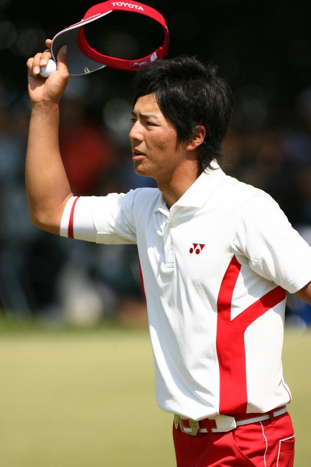 画像: 2010年「中日クラウンズ」最終日に、「58」の世界最少スコアを記録した石川プロ