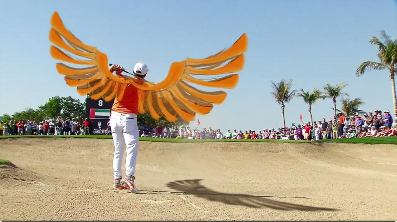 画像: 背中にイーグルの羽がついたファウラー
