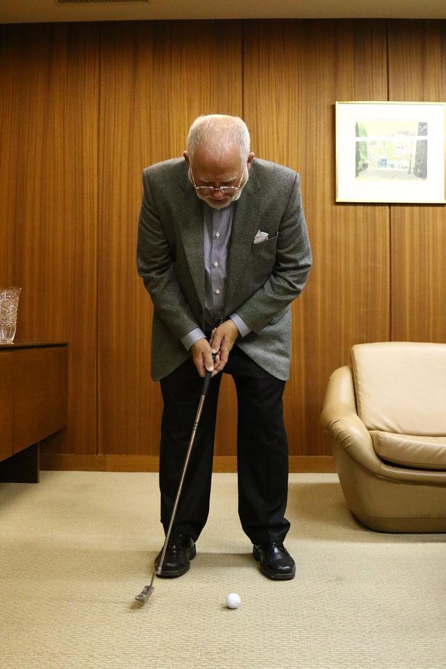 画像3: ピンの会長に直撃取材!「アンサーって、どうやって打つの?」