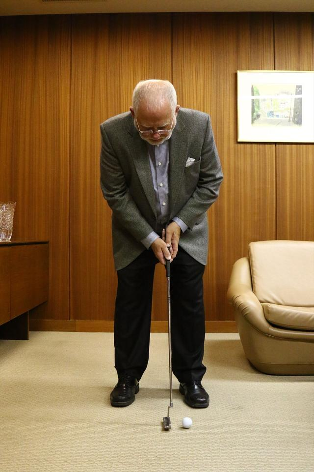 画像5: ピンの会長に直撃取材!「アンサーって、どうやって打つの?」